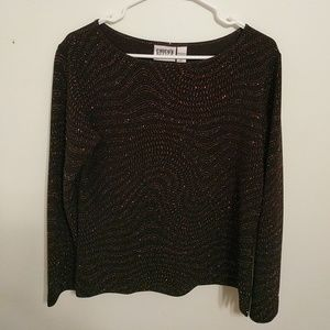 Chico's bling sweater