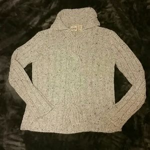 Wool blend gray sweater