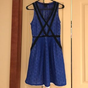 Marc by Marc Jacobs blue lace dress