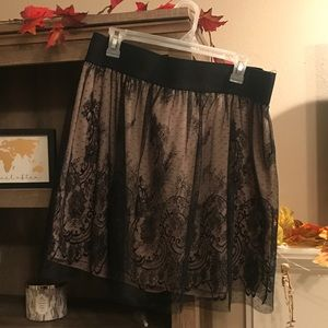 Lace Skirt. Forever 21. Size 16.