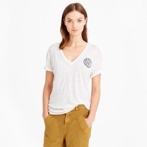 J. Crew Drapey Adore T-Shirt, M