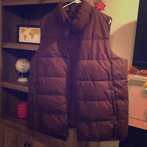 New, Never Worn Burgundy Vest. Size XXL.