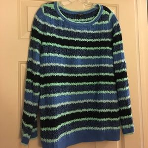 Talbots Woman striped sweater size 2X
