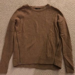 J crew side zip sweater xs