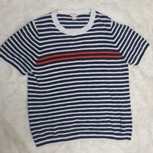 J. Crew XL striped sweater