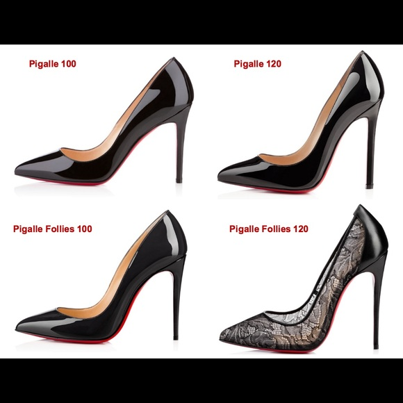 e8309da2727f Christian Louboutin - Pigalle vs Pigalle Follies Comparison! from Eva s  closet on Poshmark