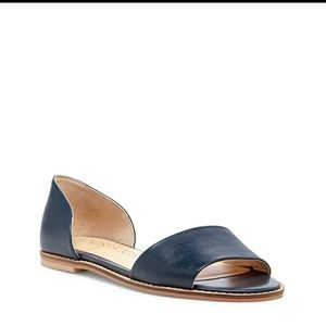 Navy Harlow Sandles from Sole Society