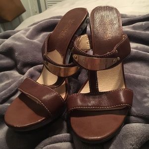 Brown Michael Kors Pumps