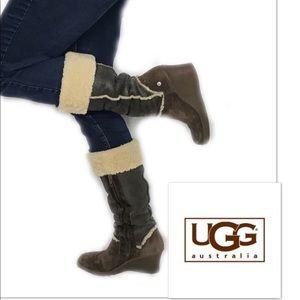 UGG Australia brown winter boot