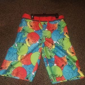 Other - Skull swim trunks