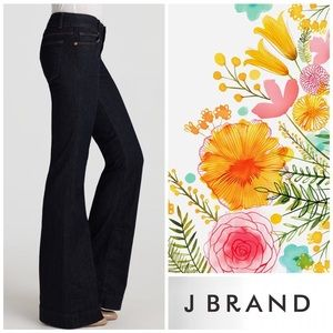 "J Brand Love Story Bellbottom Flare ""Pure"" Jeans"