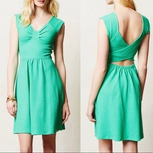 Anthropologie postmark Matilde green dress NWT
