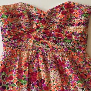 Shoshanna 100% Silk Floral Dress Sz 2