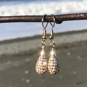 Jewelry - Handcrafted earrings with Swarovski crystal #268