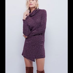 NWT Free People By The Fire Sweater Mini Dress