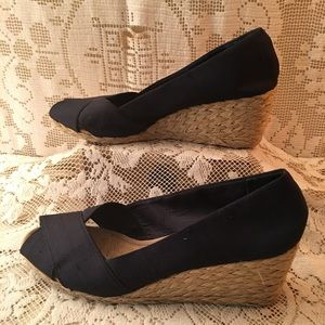Ralph Lauren canvas sandals 8.5