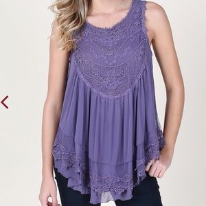 Timeless Lace Tank Top