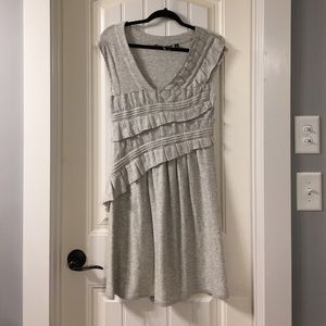 NEW Knitted & Knotted Anthropologie Ruffled Dress
