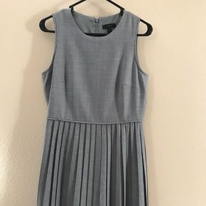 J. Crew dress with pleated skirt