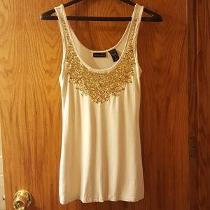New York and Co sequined tank