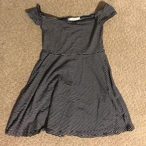 MINKPINK Off the shoulder striped dress