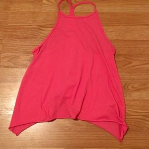 Hollister pink halter top size small
