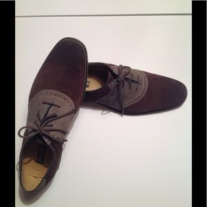 Stacy Adams Suede Leather Oxfords