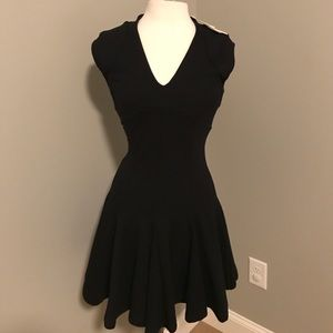 Black French connection skater dress