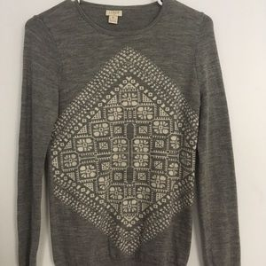 J.Crew Snowflake Sweater
