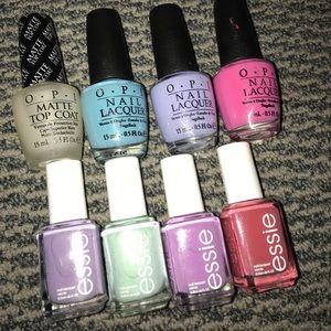 OPI and ESSIE nail polish 💅🏽 bundle