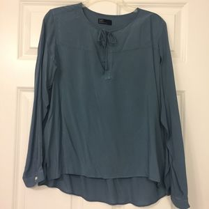 Gap Chiffon Blouse - Blue