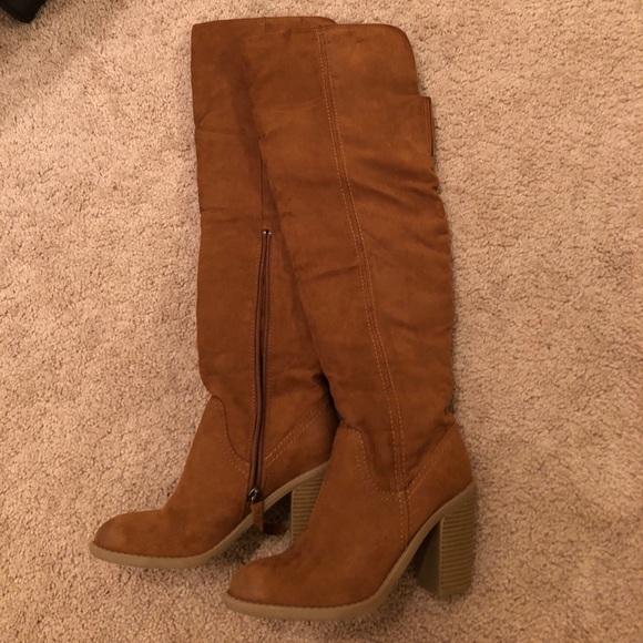 b98e9f9f552 DV by Dolce Vita Over the Knee Heeled Boots My Posh Closet
