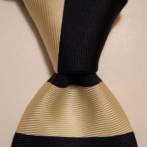 BROOKS BROTHERS Silk Necktie STRIPED Sailboat Blue