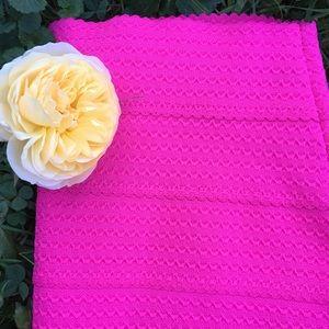 Skirt NY&Company Slip on Bandage Hot Pink Size XS