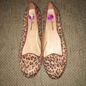 Chinese Laundry cheetah print flats