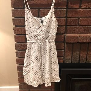 Light white women's dress
