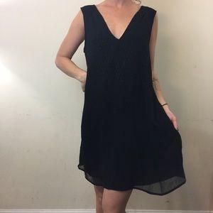 NWT Madewell Silk Sequin Fine Sleeveless Dress