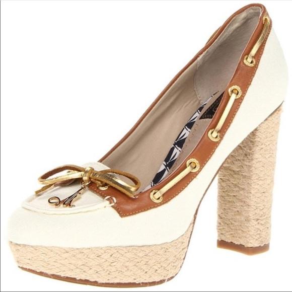 Womens Sperry Topsider Chunk Heel