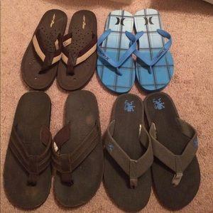 Other - Men's flip flop bundle