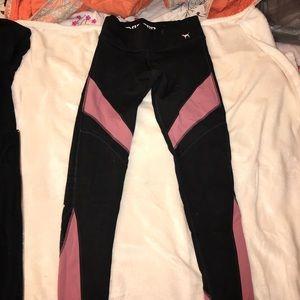 Pink reversible ultimate leggings