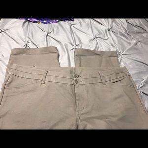 Tan/khaki dress pants