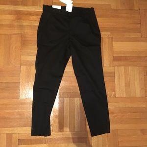 H&M black dress slacks, NWT