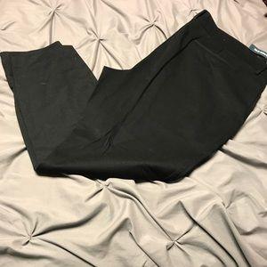 Black dress pants.