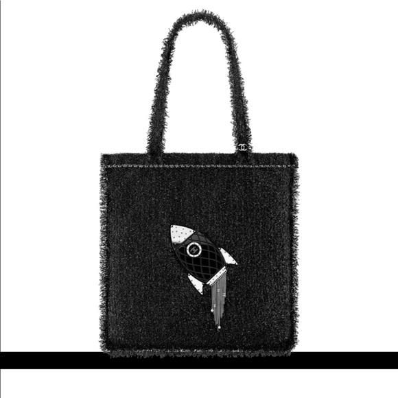 7b2eeb6ecdab CHANEL Bags | Nwt Authentic Rocket Shopping Tote | Poshmark
