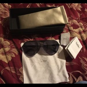 Dior aviator sunglasses