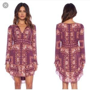 Free People long sleeve Bridgette dress