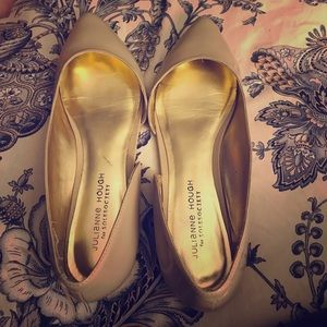Sole Society flats cream patent Julianne Hough 10