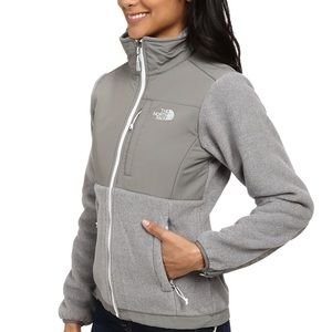 North Face Gray Denali Jacket