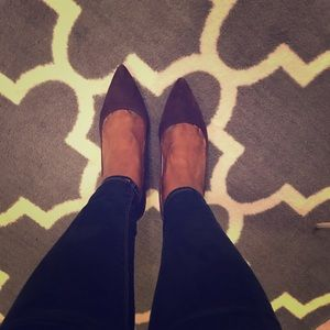 NIB Brown suede Michael Kors Pumps