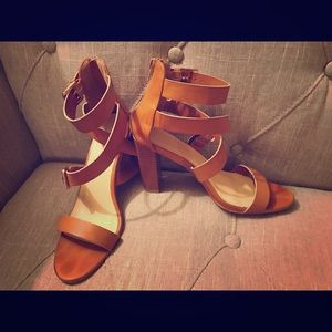 Shoes - NY&CO sandals size 9. Used them once.
